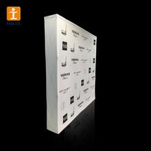 TJ Exhibit tension fabric Pop Up Display Backdrop banner Stand