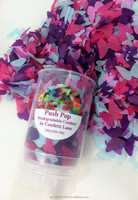 Push Pop Confetti - Biodegradable Confetti Butterflies, Hearts or Flowers Eco Friendly Wedding & Party