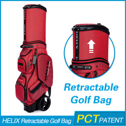 HELIX High quality pink golf bag With High Quality