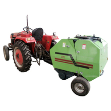 Factory direct cheap price CE certificated PTO mini round hay baler
