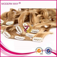 Top selling new products clips for hair extensions clip in braided extensions hair remy clip in hair extension