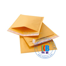 Custom colored wholesale plastic poly kraft bubble mailer packaging express waybill shipping plastic bag