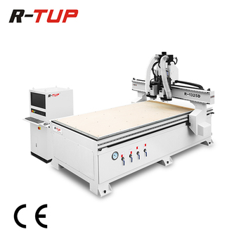 High precision two spindles cnc wood door engraving machine, cnc router machine wood