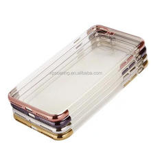 New design chrome clear case skin cover for iPhone 7 iPhone 7 Plus