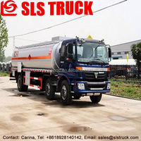 High quality HOWO 8x2 4 axle 6000L refueling truck