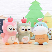 Hot Sale Cartoon Magic Doll Plush Toys Hippo Owl Rabbit Fashion Plush Toy