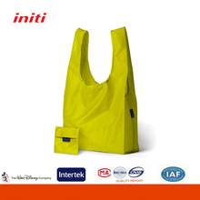 Eco-friendly Easy Carry Foldable Polyester Shopping Bag for Grocery