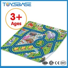 Hot sale newest baby learning mat city traffic playmat