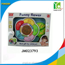 Baby Toy best gift for children funny flower with battery JM023793