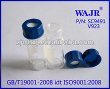 9mm HPLC vials 2ml auto sampler Glass Vials V917 auto sampler vial V927 substitute for Agilent 5182-0714 and 5182-0715