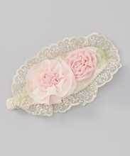 European Style Rosette Lace Doily Headband For Girl Cute Baby Infant Headband Children Accessories HA90427-82