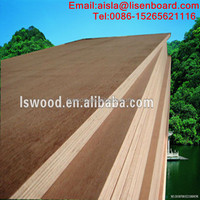 High Density Phenolic Glue Apitong/Keruing/Gurjan 28mm marine wood container flooring plywood