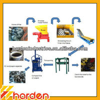 Small Oil Filter Recycling Line