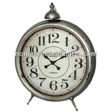 Hot Sale!!!Antique Metal Decorative Floor Standing Clock