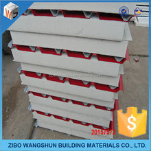 2015 low price PU/EPS/polyurethane/rock wool/glass wool sandwich panel