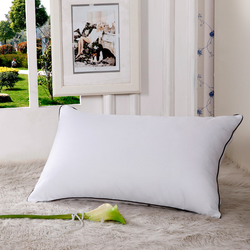 down pillow with micro steel fiber