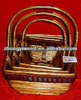 cheap bulk willow wicker baskets with handles