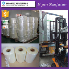Custom design plastic laminated guangzhou pvc shrink label film for bottle