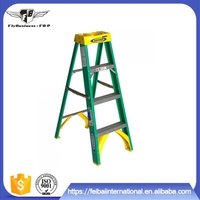Wholesale good impact and fatigue resistance performance tall frp platform step ladder
