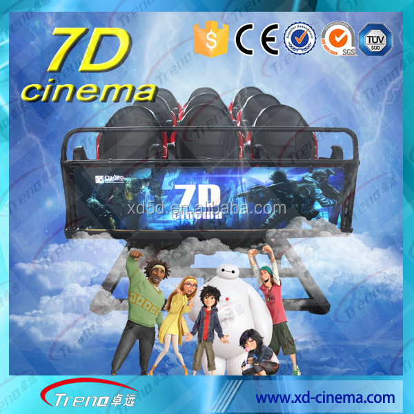 2016 TRENO hot <strong>show</strong> electric9d vr cinema system from factory with LC Certificate