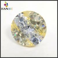 Factory price yellow topaz loose cut gemstones cz gemstone multicolor type