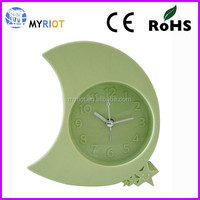 Moon and Star silicone wall Clock