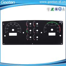 Screen Printing Custom 2D Car Instrument Cluster For Speedometer And Tachometer