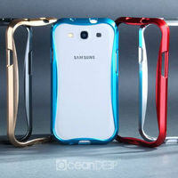 Glossy aluminum hard metal bumper frame for samsung galaxy s3 mobile phone case wholesaler alibaba products