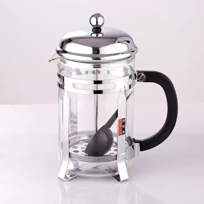 French Press Coffee & Tea Maker | 34 Oz | Coffee Press Pot with Stainless Steel & Double German Glass