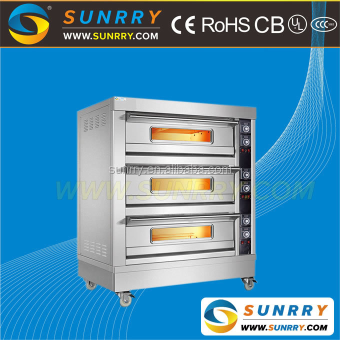 Professional electric pie baking oven