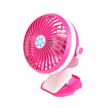 3.7V USB / Rechargeable Lithium battery two way clamp fan mini fan