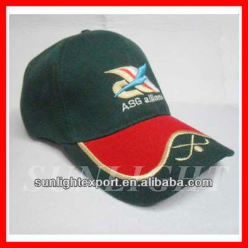 Promotional embroidered 5 panel cotton baseball cap