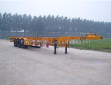 Hot Sale container 20ft transport semi trailer with low price from china