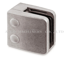 inox square glass clamps for handrail posts glass clips stainless steel wall mounted glass clamp
