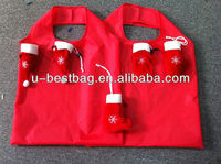 2013 foldable Christmas shopping bag wholesale