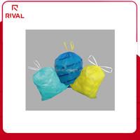 Custom trash bag on roll and yellow garbage bags LDPE