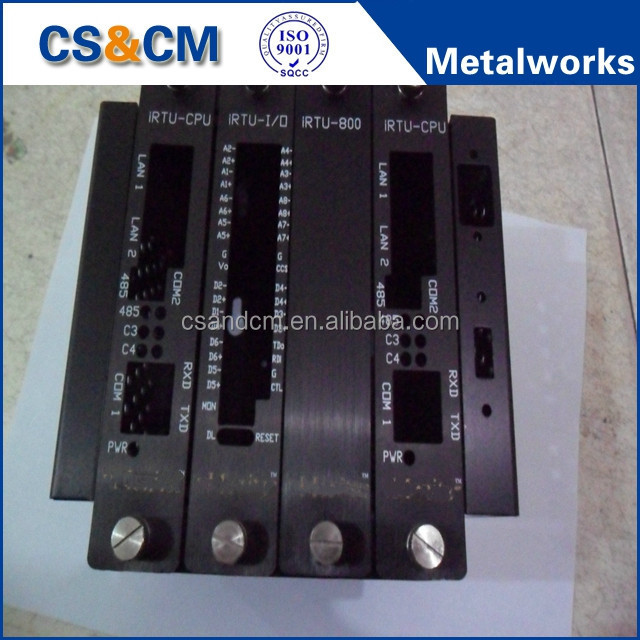 Custom Aluminum Box, Sheet Metal Electronics Anodizing Aluminum Enclosure