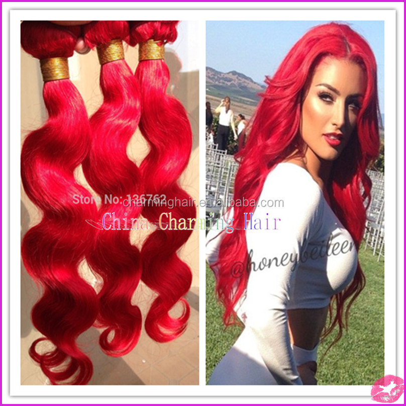 Indian Remy Hair Extensions Red 108