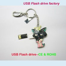 china Usb flash memory,new cartoon wolf Usb flash memory drive with keyring,manufacturers,suppliers&exporters
