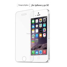 Original Sevensun 0.3mm 2.5D Tempered Glass Screen Protector For iPhone 5 5S 5c SE HD Toughened Protective Film + Cleaning Kit