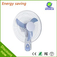 Latest model energy-saving 12v dc solar wall fan/wall mounted fan/industrial wall fan