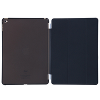 New Arrival Hot sales PU Leather folded 3 styles tablet smart cover for iPad mini 4