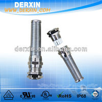 IP68-10 Waterproof Joints CE Approved M Type Brass Cable Gland