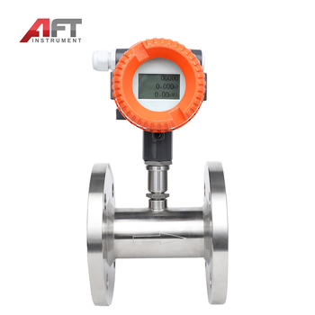 "1/2"" pipe size flow meter 4-20ma output turbine flowmeter"