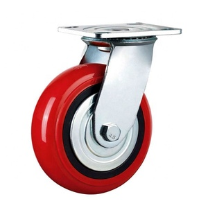 Industrial caster Silent and Soft heavy duty push cart caster wheels