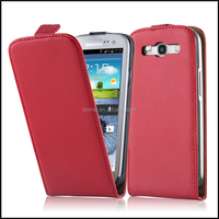 Durable Genuine Real Flip Leather Case Wallet Cover for Samsung Galaxy S3 I9300