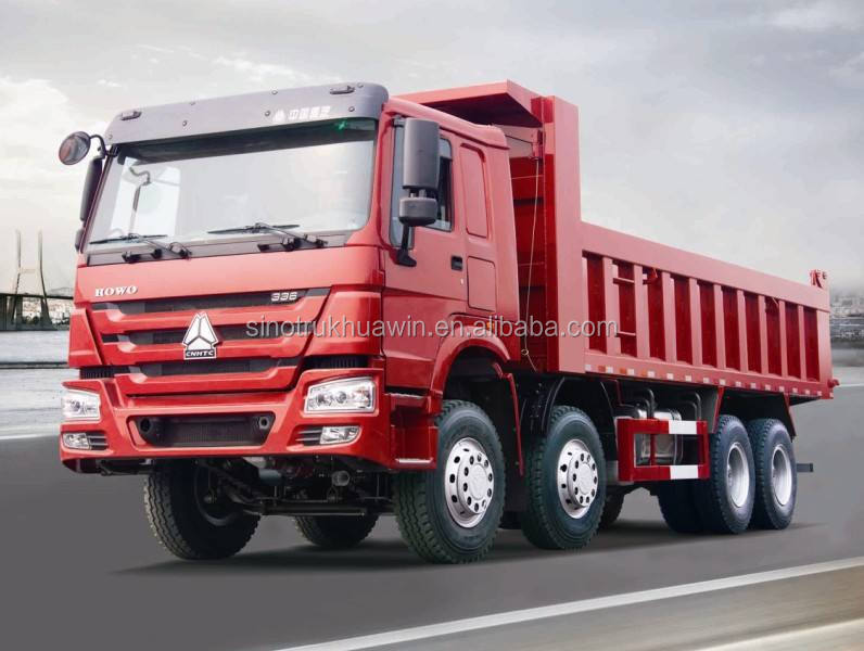 LRD/RHD 8X4 Howo Dump Truck/Tipper for sale