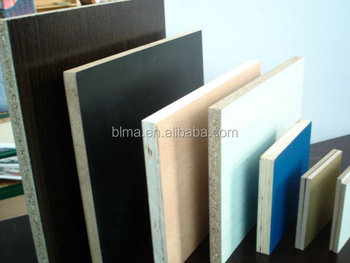 Commercial 2.3mm-18 mm Melamine Laminated high density particle board