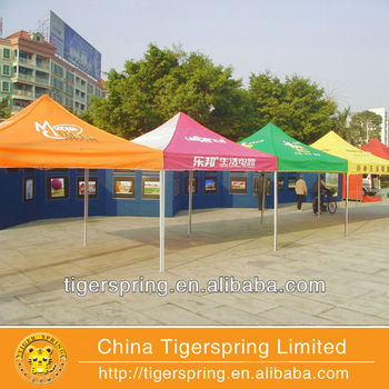 Brand anti-corruption digital print tent
