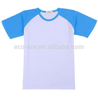 200g 35 Polyester 65 Cotton Mens Casual Short Sleeve Raglan Baseball Jersey T shirts